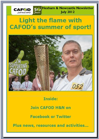 cafod essay Development) in their website (  campaign/livesimply-award) as inspired by the laudato si encyclical of pope  francis.