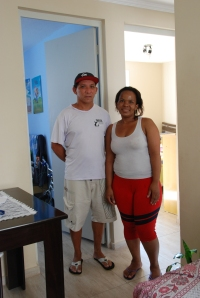 Eugenio and Rose Angela are grateful for the help they received to secure their new home.
