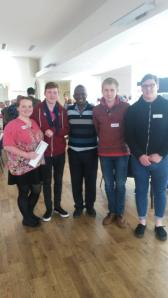 Anthony meets Gap Year participants in Lancaster
