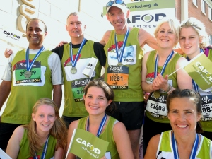 Team CAFOD did a great job in the Great North Run