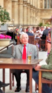 Dennis Skinner on the Terrace