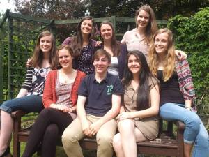 The CAFOD Step into the Gap team's last weekend together