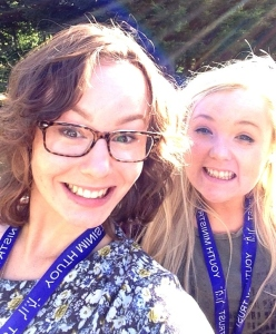 Danielle and Ellie are beginning their gap year with CAFOD