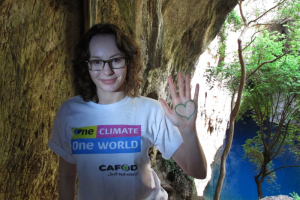 Danielle has seen the impacts of climate change in Zimbabwe