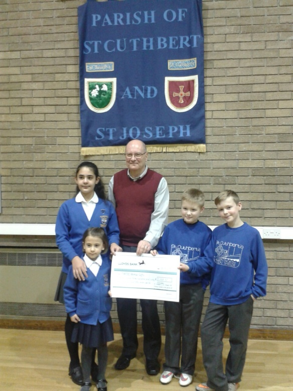 Primary schools and parishes raise over £5000 for CAFOD's World Gifts