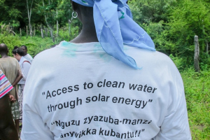 CAFOD partners provide clean water in Zimbabwe using solar energy